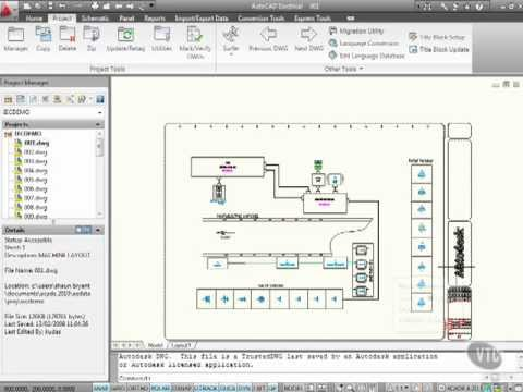 autocad electrical 2010 tutorial introduction - youtube, Electrical drawing