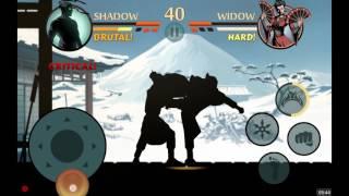 Shadow fight 2 widow video clip