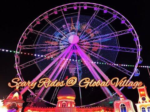 Scary Rides & Fireworks @ Global Village / Global Village Vlog in Tamil 2019-2020