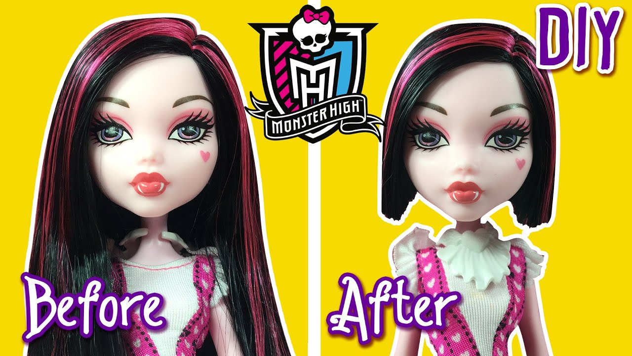 Monster high draculaura hairstyle dress up