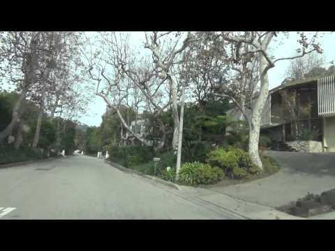 Lady Gaga's House *Driving in Bel-air California