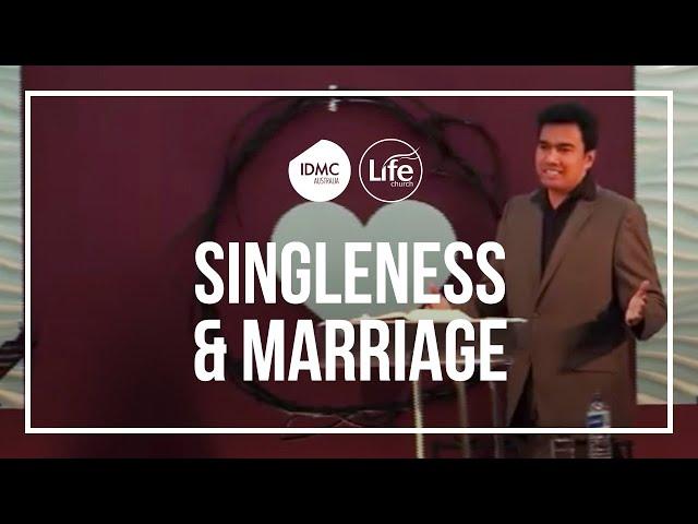 Singleness and Marriage | Rev Paul Jeyachandran