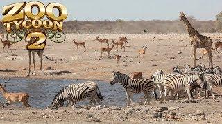 Zoo Tycoon 2: Large African Savanna Exhibit Speed Build