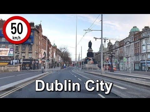 Dash Cam Ireland - Dublin City Centre