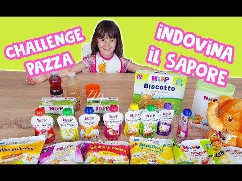 Alyssa e la Hipp Challenge! 🍎 Indovina la frutta dal sapore.