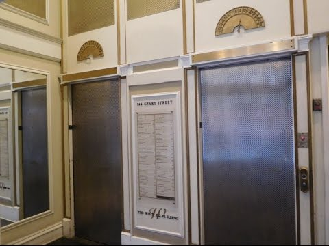AMAZING Gated High Rise Traction Elevators-San Francisco, CA