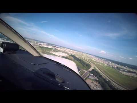 First flight to Saint Louis Lambert Field