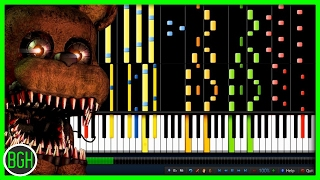 "Cover images IMPOSSIBLE REMIX - ""Break My Mind"" DAGames (Five Nights at Freddy's 4)"