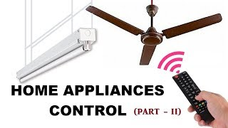 Video Controlling Fan & Light with TV Remote using CD4017 IC (Part - 2/2) download MP3, 3GP, MP4, WEBM, AVI, FLV September 2018