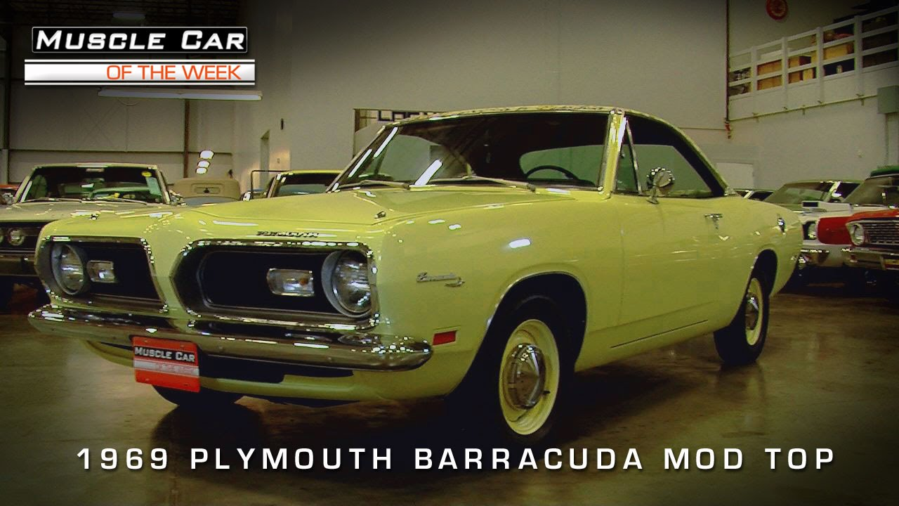 Muscle Car Of The Week Video Episode Plymouth Barracuda