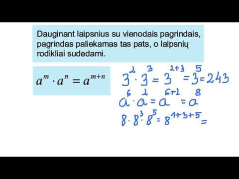 Laipsnis matematika