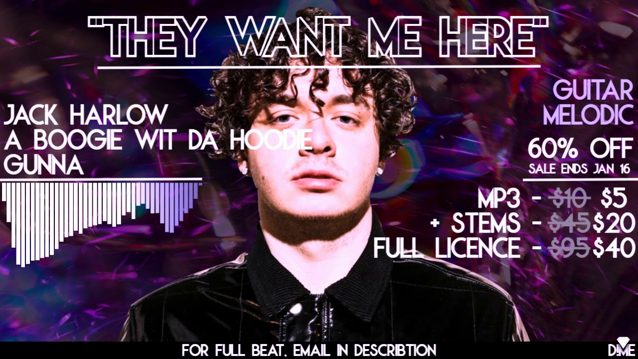 D!ME – They Want Me Here (Jack Harlow x A Boogie Type Beat)