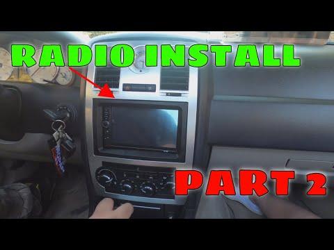 RADIO INSTALL ON THE CHRYSLER 300C PART 2