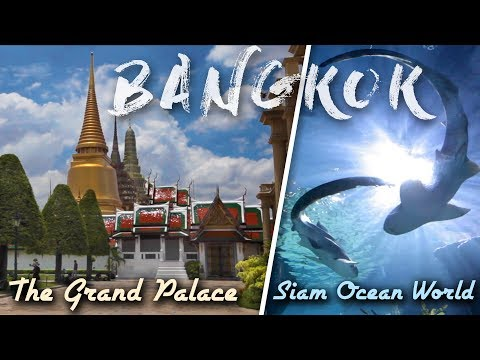 Getting Lost in Bangkok - The Grand Palace & Siam Ocean World