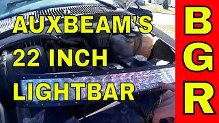 auxbeam 22 inch 126 watt led light bar big guy review