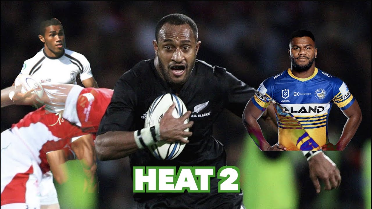 Who's the fastest Fijian Rugby Player? - Heat 2 of 4