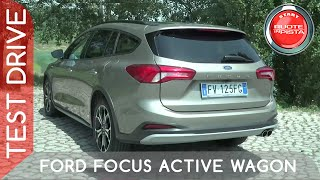 Ford Focus Active Wagon a Ruote in Pista
