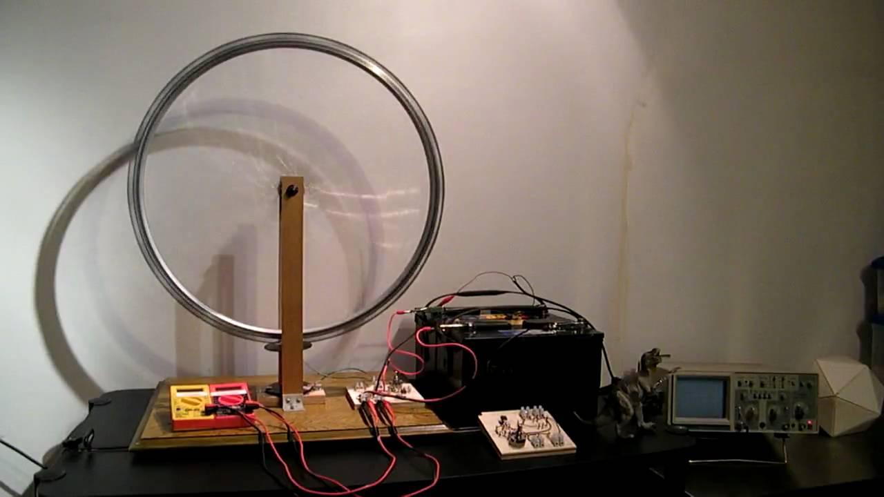 John Bedinis Monopole Motor Mechanical Oscillator Radiant Energy Thisdiagram Was Used By Bedini To Test The Tesla Switch Charging Part One
