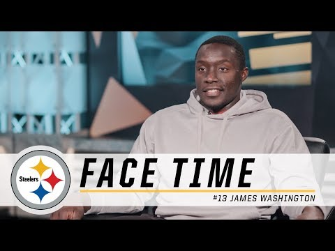 James Washington on Chemistry with Ben, Learning from JuJu | Pittsburgh Steelers Face TIme