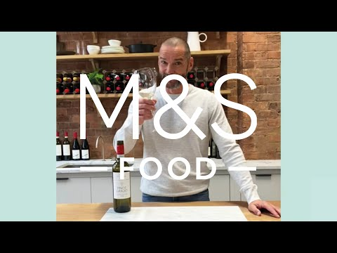 A taste of Fred Sirieix (and our Pinot Grigio)...   M&S FOOD