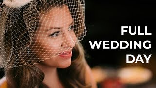 Full Wedding Photography Day Hybrid Photo+Video Candid Coverage Behind The Scenes
