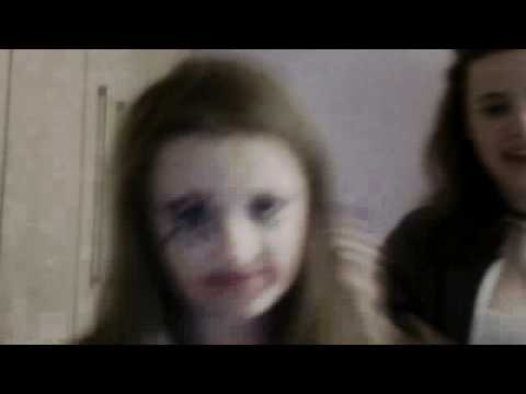 Parody of people who think makeup makes you popular at school.