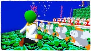 Estamos Bajo El Agua En El Mundo De Super Mario Maker 2 De Plastilina