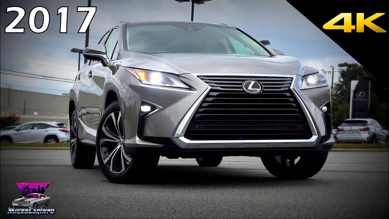 Lexus 350 Rx 2017 >> 2017 Lexus RX 350 - Detailed look in 4K - YouTube