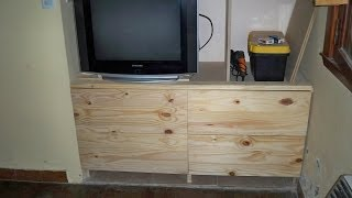 Como Hacer Una Cajonera - How To Make A Chest Of Drawers.