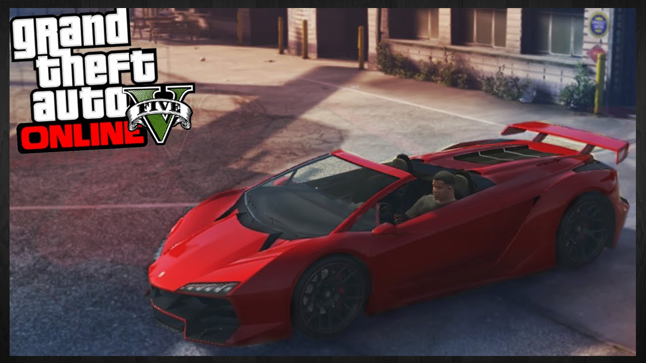 Gta  Online New Insane Convertible Super Cars Idea In Gta  Images Youtube