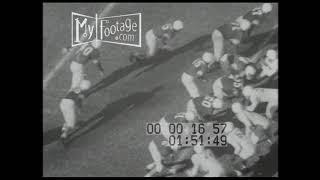 1950 College Football: Oklahoma Sooners Vs Texas Longhorns 14-13 (Silent)