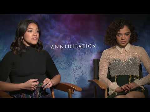 Annihilation : Tessa Thompson & Gina Rodriguez