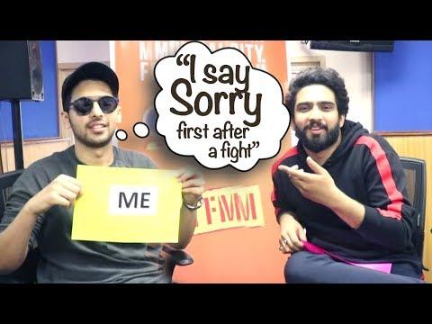 Ghar Se Nikalte Hi | I always say Sorry after a fight: Armaan Malik
