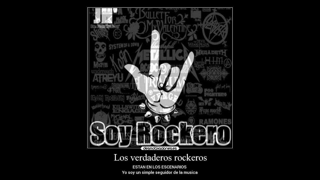TIPOS DE ROCKEROS - YouTube