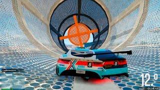 EL COCHE DOBLE!! GTA V ONLINE #223 - GTA 5 Gameplay Carreras Acrobáticas