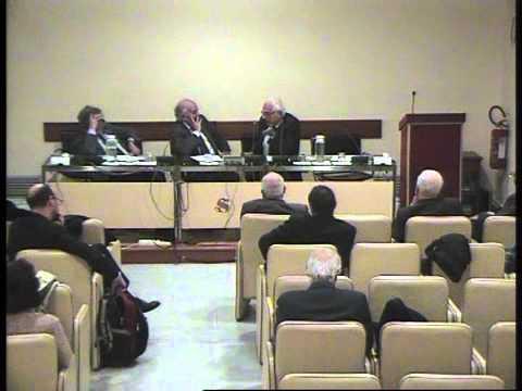 Convegno ex Parlamentari - Prof. Visco