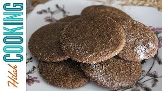 Ginger Snap Cookies - Crispy Ginger Snaps Recipe