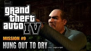 GTA 4 - Mission #9 - Hung Out to Dry (1080p)