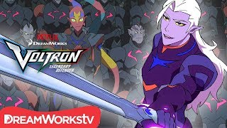 Lotor Takes the Throne | DREAMWORKS VOLTRON LEGENDARY DEFENDER