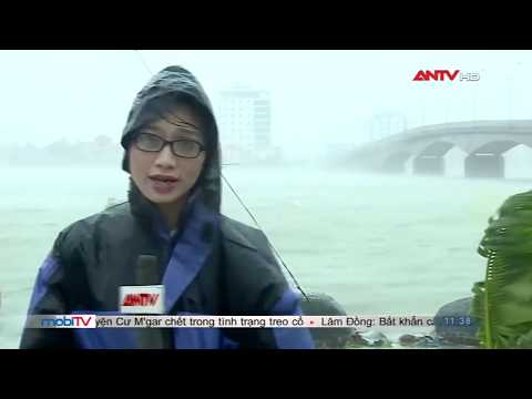TRỰC TIẾP: Siêu bão số 10 cuồng nộ càn quét Việt Nam