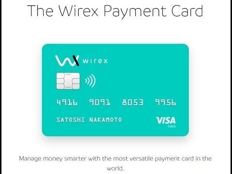 Wirex app Visa Card