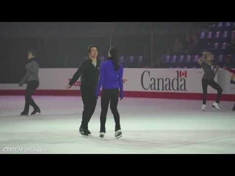 Tessa Scott 2018 Cdn Nats gala ex finale + practice clips