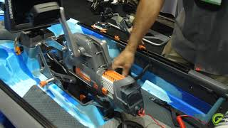 iCAST 2018 - Feelfree Kayaks - Overdrive System