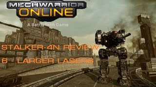 MechWarrior Online Stalker-4N Tactical Review