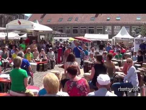 Lübeck klingt - Drumcircle 2016