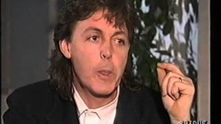 paul mccartney italian tv milano 1989