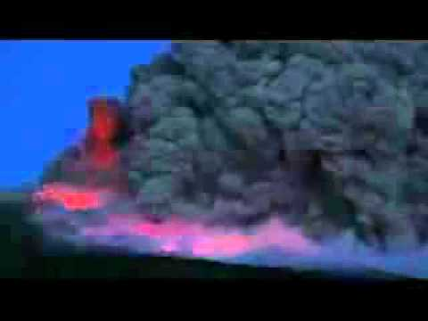 clip nui lua thuc day ngay 13/3/2011 tai Nhat Ban. Volcano Eruptions in Japan