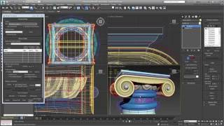 Using Normal Maps in 3ds Max - Part 6 - Render to Texture