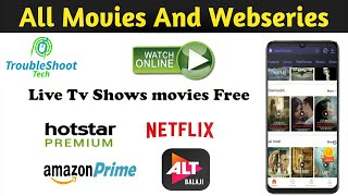 Watch tv shows and movies for free | Watch web series online free 2020