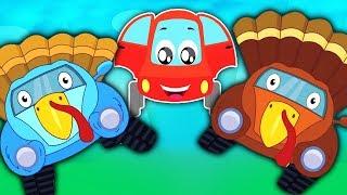 Truthahn Lied | Reim für Kinder | Auto Lied | Kinderlieder | Nursery Rhymes | Turkey Song